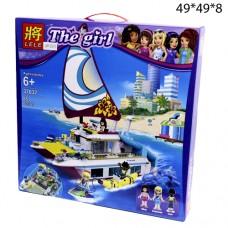 Конструктор The Girl Яхта 651 дет.