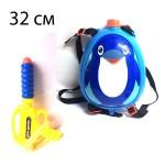 Водный пистолет с бочонкой Пингвин