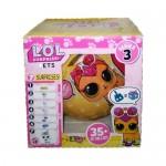 Кукла сюрприз LOL PETS в шарике 1шт. 3 серия.