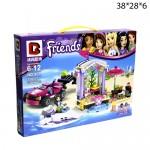 "Конструктор Друзья ""Friends"" 356 деталей."