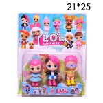 Куклы LOL фигурки 3 шт.