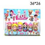 Куклы LOL фигурки 5 шт.