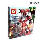 Конструктор Ниндзяго Огненный робот 310 деталей