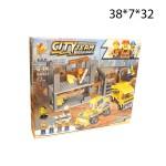 Конструктор City Team (строительный) 372 деталей
