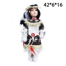 Кукла керамическая Индианка