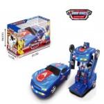 Машина Капитан Америка - Трансформер, светящийся, музыкальный