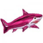 Шар (16/41 см) Мини-фигура, Страшная акула, Фуше, 1 шт.