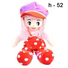Мягкая кукла в горошек