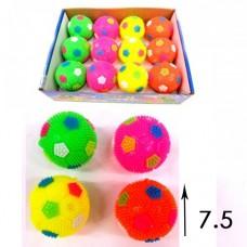 Мяч футбольный светящийся (средний)
