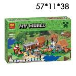 "Конструктор Майнкрафт (Minecraft) ""Деревня"" 1622 дет."
