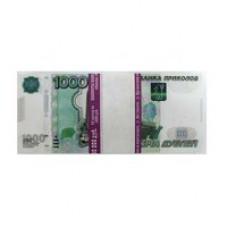 Купюры Прикол 1000 рублей