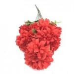 Хризантемы. (красные)  1шт.