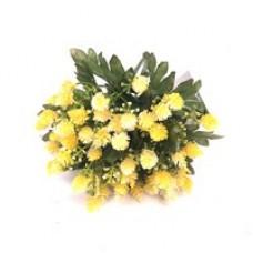 Цветок 2 (желтый)  1шт.