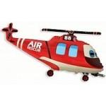 Шар (17/43 см) Мини-фигура, Вертолет-Спасатель, 1 шт.