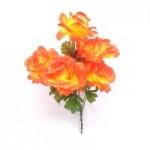 Роза. (оранжевая)  1шт.