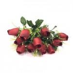 Роза, (красная)  1шт.