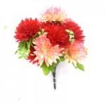 Хризантемы, красные/розовые  1шт.