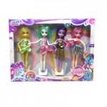 Куклы Пони в наборе 4шт.