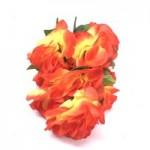 Роза - (оранжевая)  1шт.