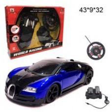 Машина с рулем и педалями на радиоуправлении