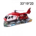 Вертолет с машинкой в пакете