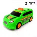 Машина Taxi (мал.) инерционный в пакете