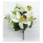 Орхидея. (белая)  1шт.
