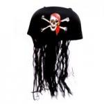 Бандана Пиратская (с волосами)