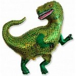 Шар (33/84 см) Фигура, Тираннозавр, 1 шт.