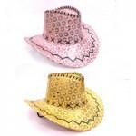 Шляпа Ковбой с блёстками