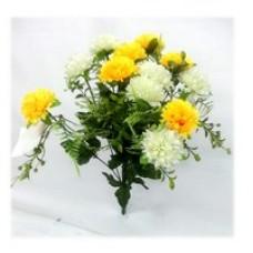 Хризантемы (белые/желтые)  1шт.