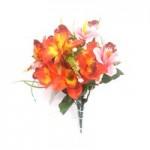 Орхидея (красно-розовая)  1шт.