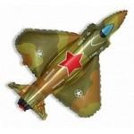 Шар (39/99 см) Фигура, Истребитель, Военный, 1 шт.