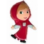 Шар (14/36 см) Мини-фигура, Красная шапочка, 1 шт.