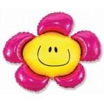 Шар (41/104 см) Фигура, Солнечная улыбка, Фуше, 1 шт.