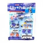 Набор Полицейских машин + вертолет