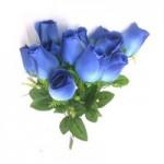 Роза, (синяя)  1шт.