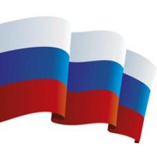 Флаг РФ 90*60 см.