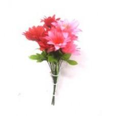 Цветок (розовый, красный)  1шт.