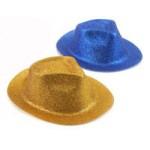 Шляпа блестящая