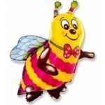 Шар (15/38 см) Мини-фигура, Пчела, Желтый, 1 шт.
