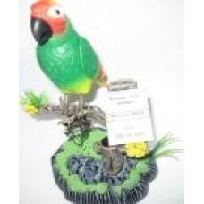 Птица 1 шт. на ветке Попугай