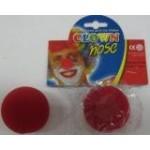 Нос клоуна поролоновый