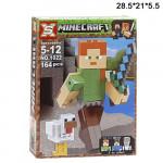 Конструктор (Minecraft  ) человек зеленый