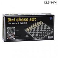 Игра магнитные шахматы 3в1 маленькие