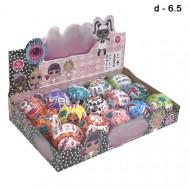 Куклы сюрприз  в шарах  маленькие