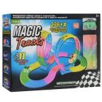 ГОНОЧНАЯ ТРАССА MAGIC TRACKS 236 деталей + 2 петли