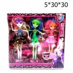 Кукла Monster High в очках (Монстер Хай)