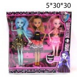 Кукла Monster High (Монстер Хай) 3шт.