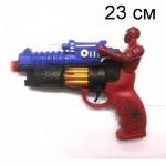 Пистолет Человек паук,  музыкальный, светящийся